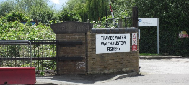 Entrance to Walthamstow Reservoirs